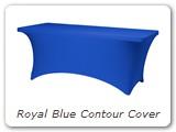 Royal Blue Contour Cover