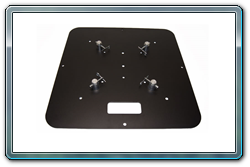 Quik Stage 24 x 24 Black Steel Truss Base. Fits Global Truss F23, F24, F33 and F34.