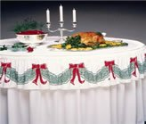 Holiday Valance Table Skirting