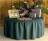 Shirred Design Table Skirting