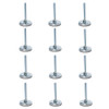 """Top selling 12 Pack of Quik Stage 3/8-16 x 3"""" Long Adjustable Screw Foot for Portable Stage Leg."""