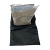 Saddlebag style sandbag is intended to be used anywhere weights are required as additional weight on pipe and drape or truss bases and more- with Plastic bag with sand bag