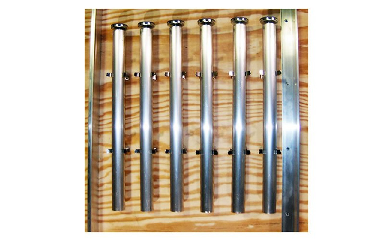 6 stage legs stored using our top rated Quik Stage Leg Storage Clips