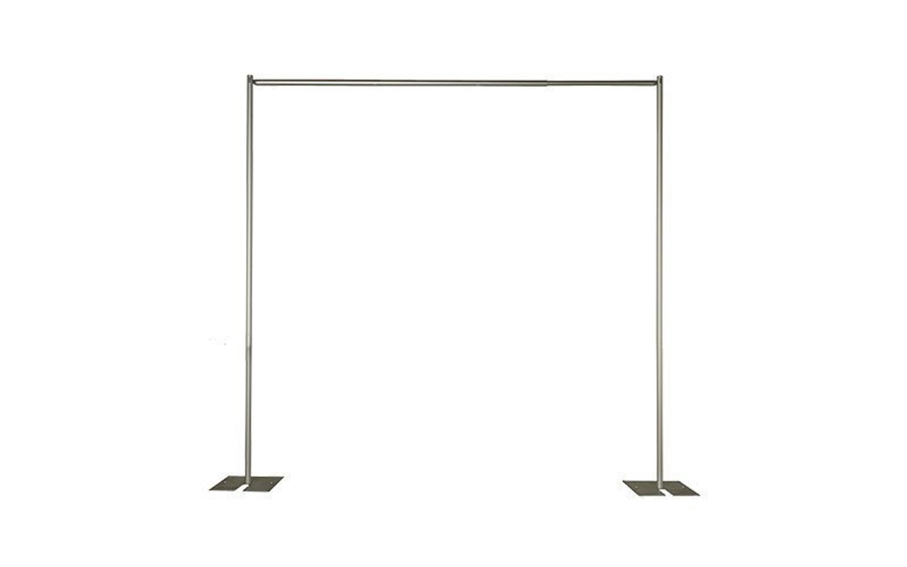 """16"""" X 14"""" Pipe and Drape Slip Fit Base with 3"""" Pin - Pipe and Drape Setup. Best Value!"""