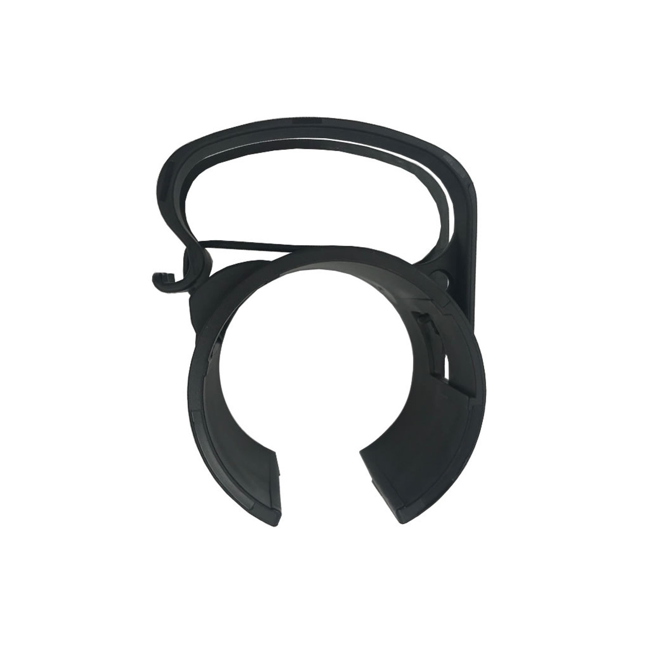 Global Truss DT Snap On Black Cable Management Clip- Top View