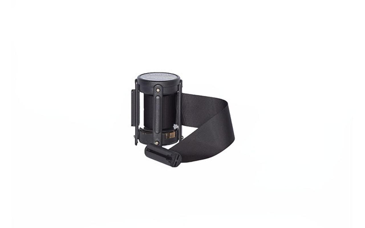 Top Seller Black 10' Replacement Retractable Belt Stanchion Cassette.