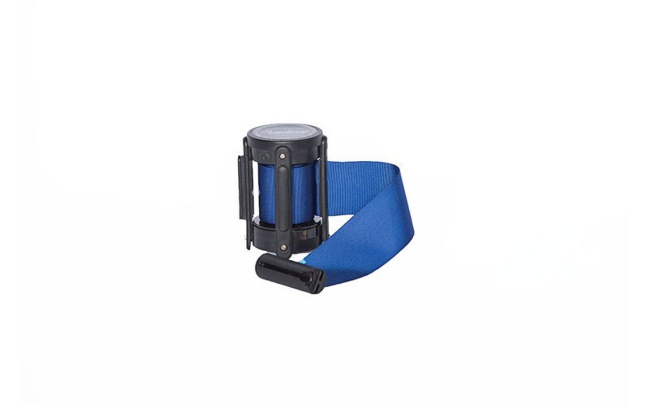 Top Seller Dark Blue 10' Replacement Retractable Belt Stanchion Cassette.