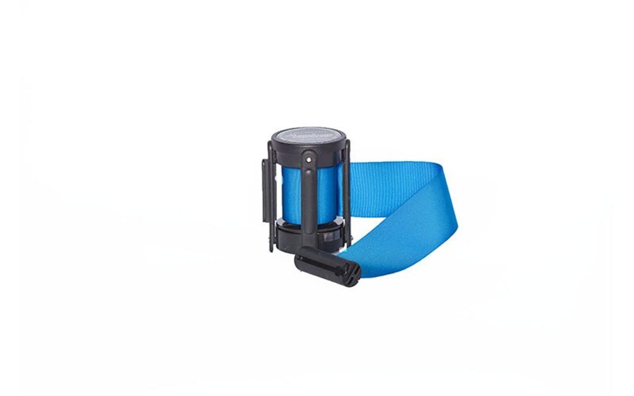 Closeout Top Seller Light Blue 10' Replacement Retractable Belt Stanchion Cassette.