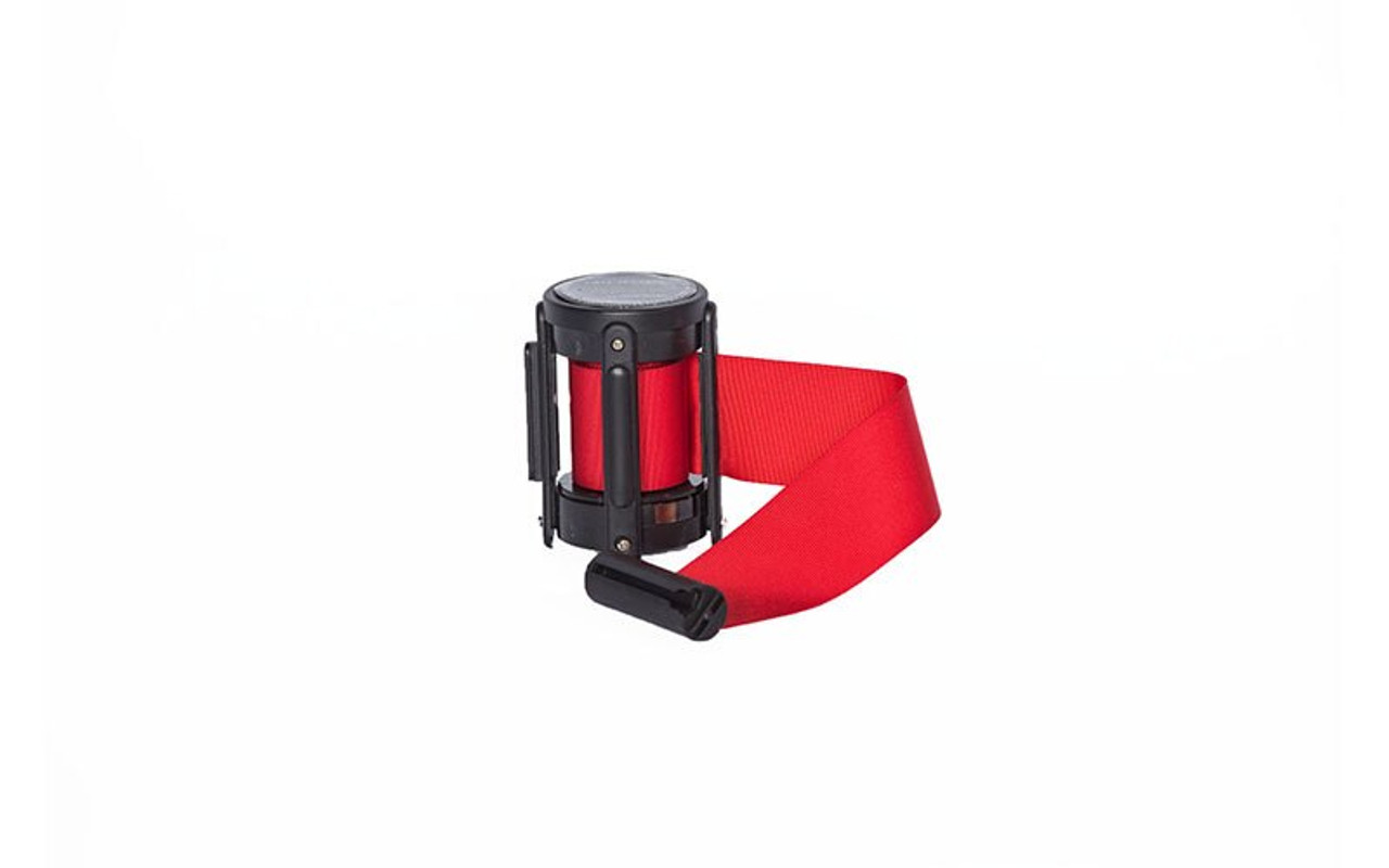 Top Seller Red 10' Replacement Retractable Belt Stanchion Cassette.