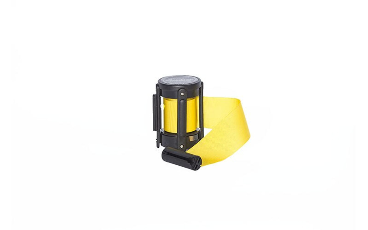 Top Seller Yellow 10' Replacement Retractable Belt Stanchion Cassette.
