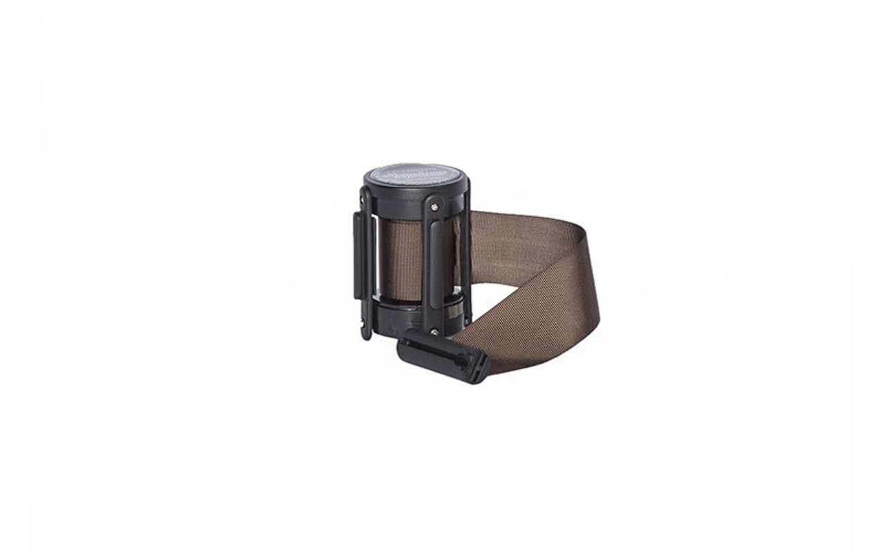 Top Seller Brown 10' Replacement Retractable Belt Stanchion Cassette.