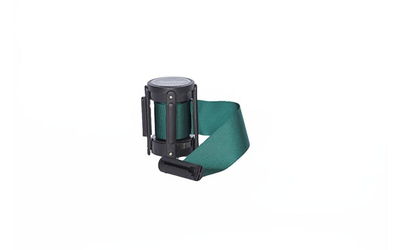 Top Seller Green 10' Replacement Retractable Belt Stanchion Cassette.