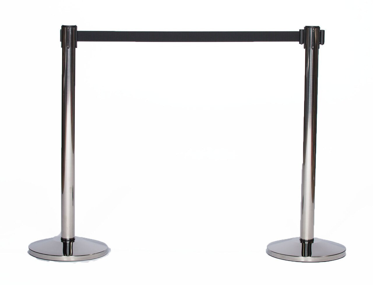 Closeout Compatible with Top Rated Chrome/ Stainless Steel Retractable Belt Stanchion or Safety Barriers