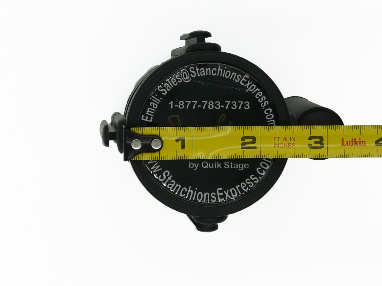 Closeout Best Selling Retractable Belt Stanchion Replacement Cassette  Width Measurement 2