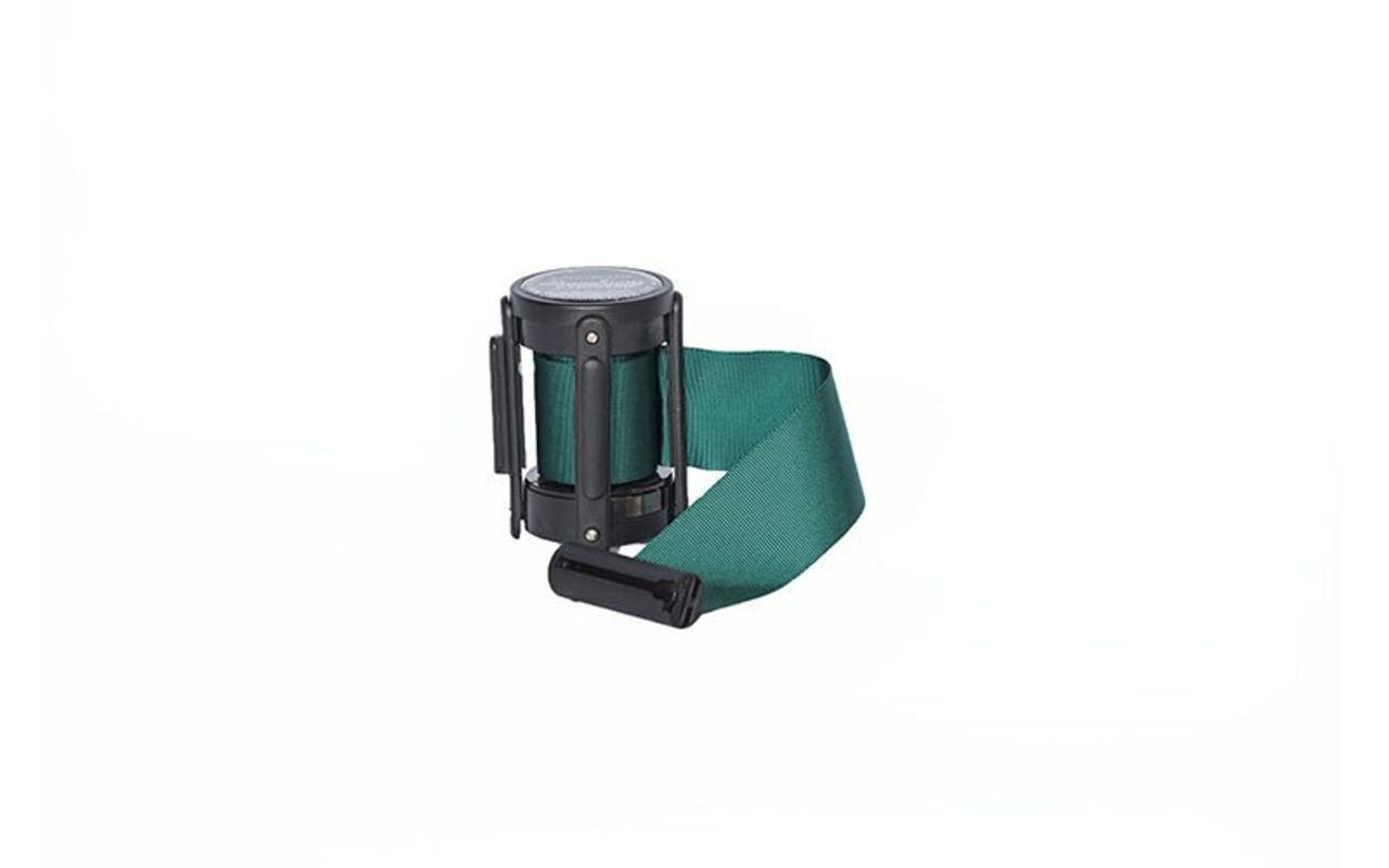 Closeout 6-pack Top Seller Green 8' Replacement Retractable Belt Stanchion Cassette.