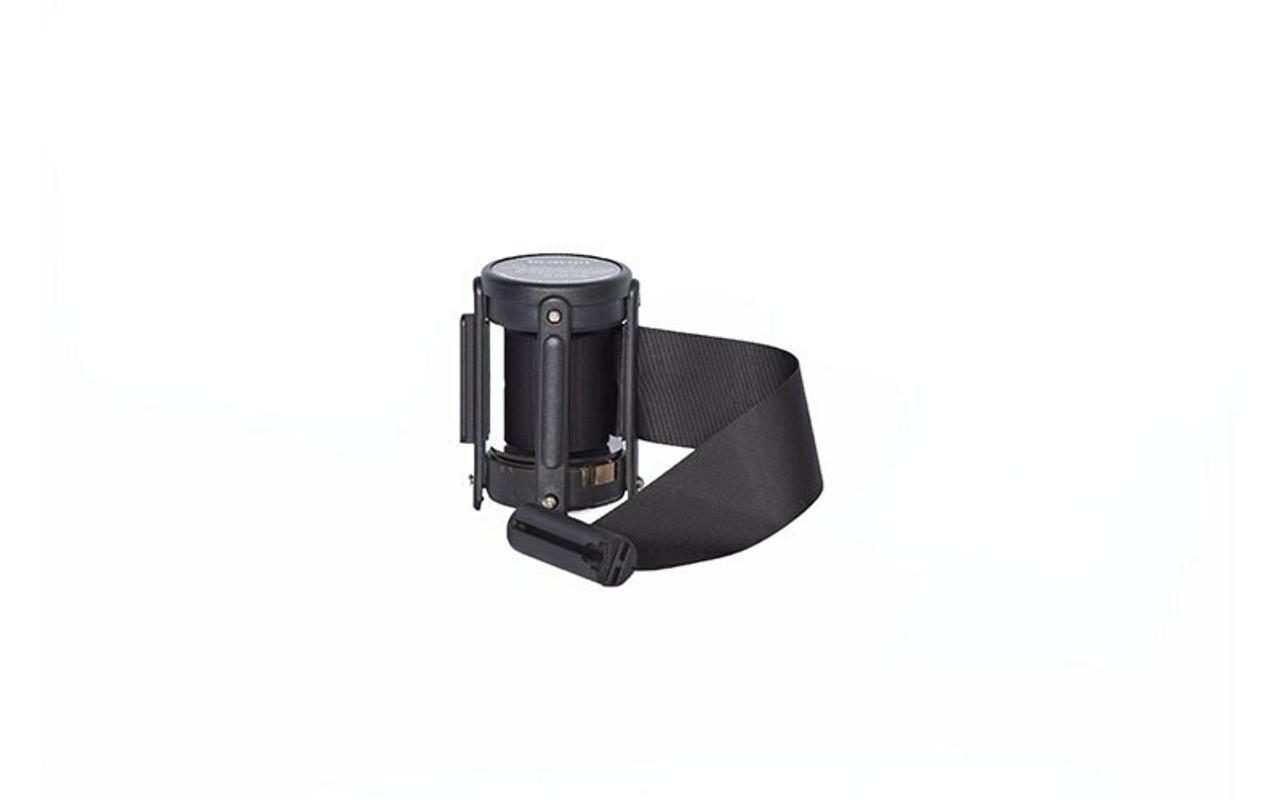 Closeout 6-pack Top Seller Black 8' Replacement Retractable Belt Stanchion Cassette.