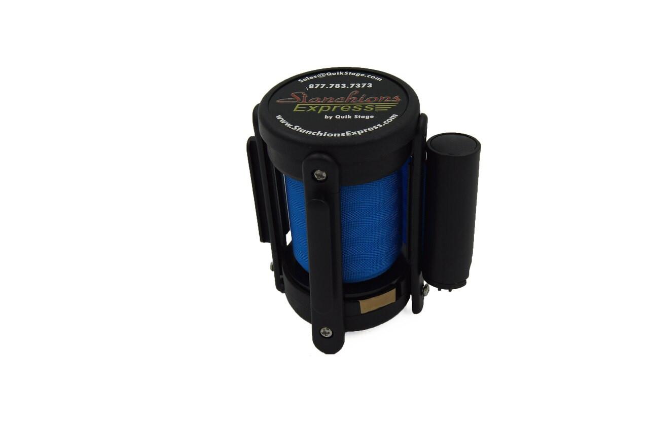 Closeout 6-pack Best Seller Light Blue 8' Replacement Retractable Belt Stanchion Cassette.