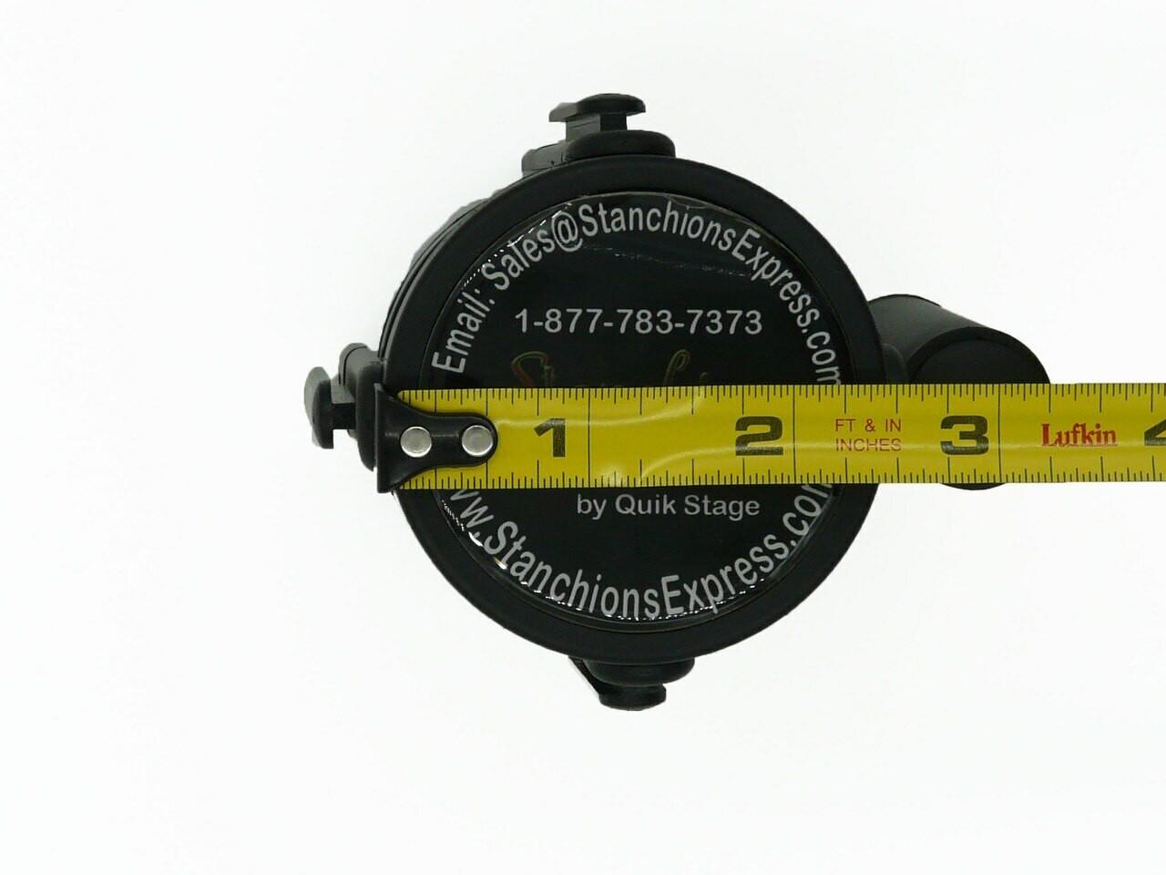 Best Selling Retractable Belt Stanchion Replacement Cassette  Width Measurement 2