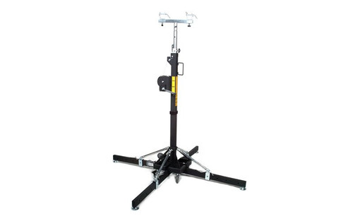 Top Selling Global Truss ST-157 Medium Duty Crank Stand or Lift with 4 Outriggers and Truss Adapter