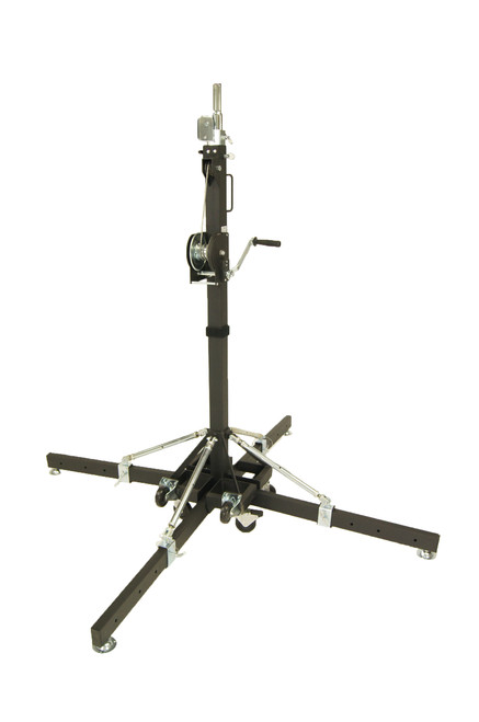 Best Value Global Truss ST-157 Medium Duty Crank Stand or Lift with 4 Outriggers