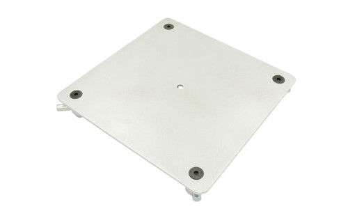"""Best Selling 12"""" x 12"""" Aluminum Truss Base or Top Plate. Fits Global Truss F34 SQ and Others. Bottom View."""