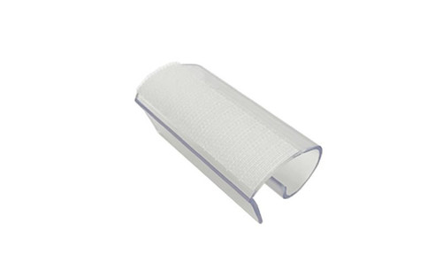 """JS Clip with Velcro™. 2 1/2"""" Wide. Fits 3/4"""" to 1 1/4"""" Table Thickness. Top Angle View"""