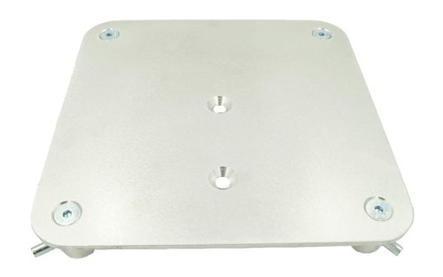 """Best value 9"""" x 9"""" Aluminum Truss Base or Top Plate. Fits Global Truss F23-F24 and Others."""