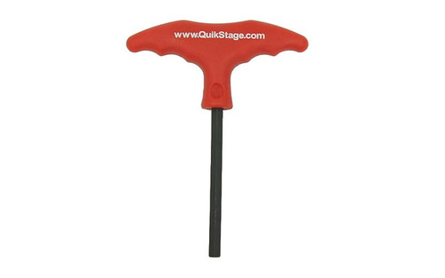 "Top selling Quik Stage 5/16"" x 6 1/2"" Long T-Handle Hex Key Wrench. Shipping Included!"
