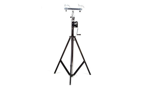 Top selling Global Truss ST-132 Tri-Pod Crank Stand or Lift with 5' Square T-Bar