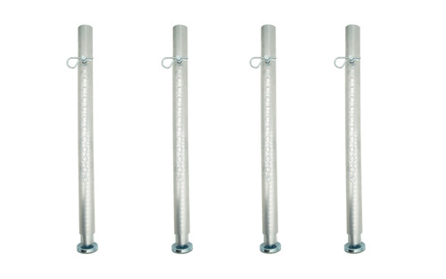 """Top selling Set of 6 each Quik Stage 36"""" to 48"""" S3 Adjustable Portable Stage Legs"""