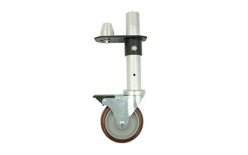 """Best Selling 16"""" Double Caster Leg by Quik Stage."""