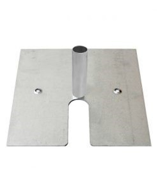 """16"""" X 14"""" Pipe and Drape Slip Fit Base with 3"""" Pin. Top Seller!"""