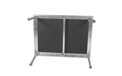 "Best selling Quik Stage 2' x 3' x 8"" High Portable Stage Deck with Black Polyvinyl Non-Skid Surface. Additional Heights and Surfaces Available."