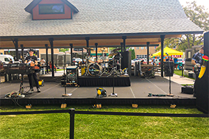 Quik Stage Weather Resistant Portable Staging