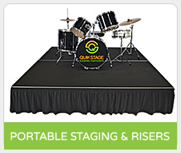 Shop Portable Staging and Risers