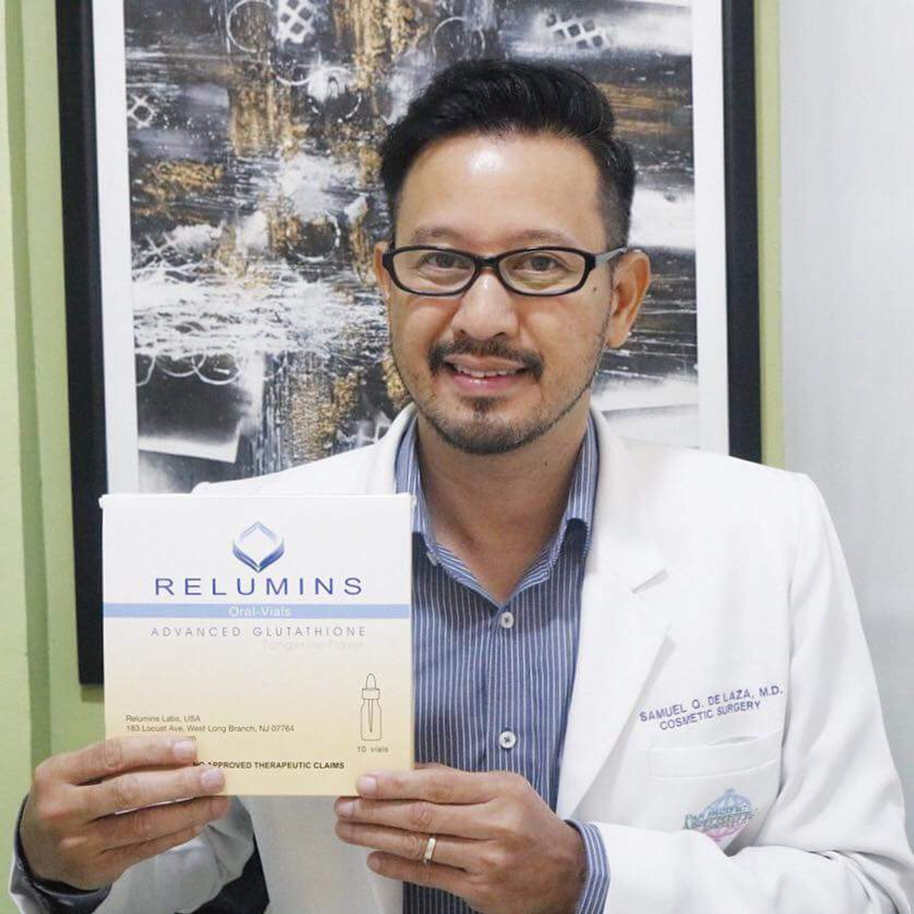 Relumins Advanced Glutathione 15000mg PLUS Boosters - Sublingual Vials