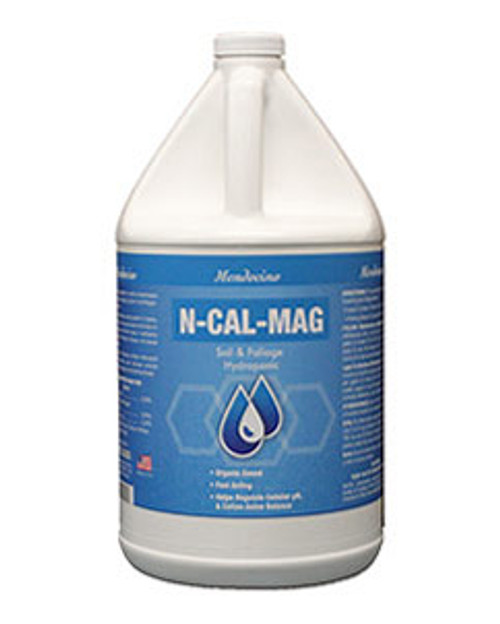 Grow More N-Cal-Mag is a plant supplement designed to supply calcium and magnesium to develop healthier and more plentiful fruit set and to prevent deficiencies.