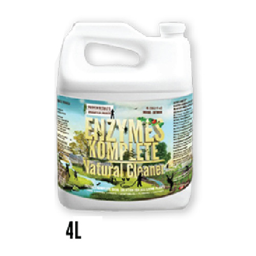 Enzymes Komplete Natural Enzymatic Cleaner 4 Liters