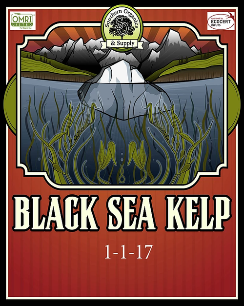 Label for Black Sea Kelp