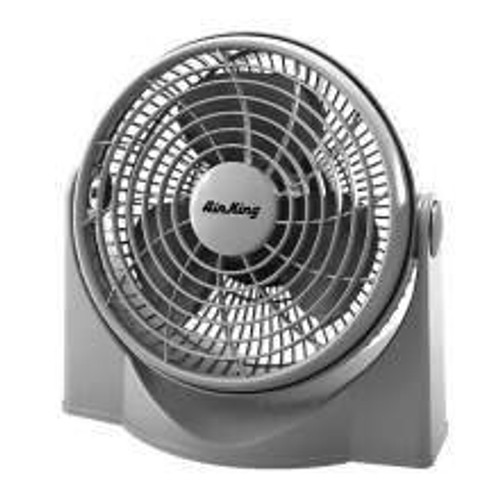 "Air King 18"" Oscillating Wall Mount Fan"