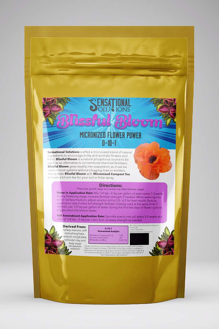 Sensational Solutions Blissful Bloom 1.5 lbs