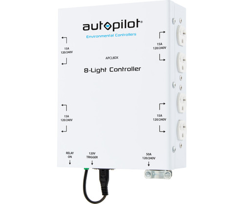 Control multiple lights from one time clock or controller device