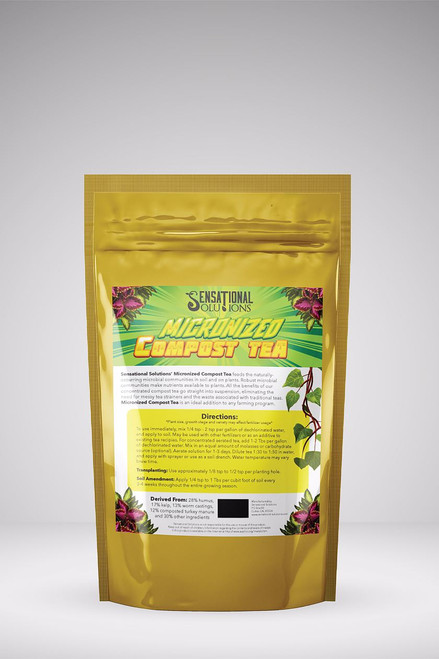 Sensational Solutions Micronized Compost Tea 1 lb