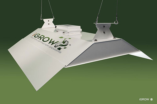 iGROW Induction Fixture 4ft 400W w/Bloom Lamp Complete