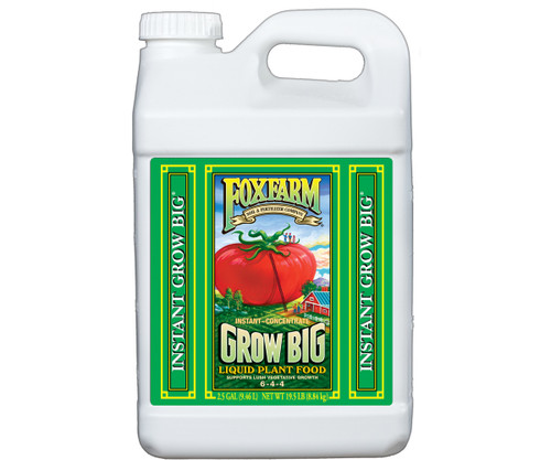 Fast-acting, water-soluble fertilizer for lush, vegetative, compact growth