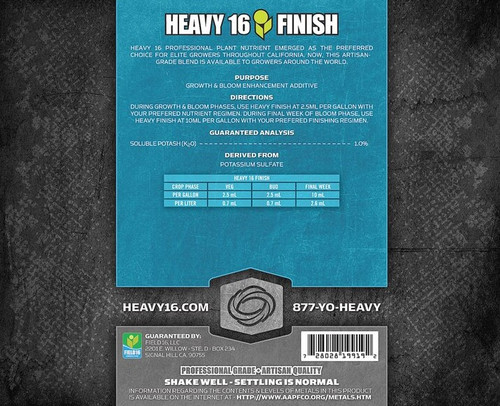 Heavy 16: FINISH, 6 gal