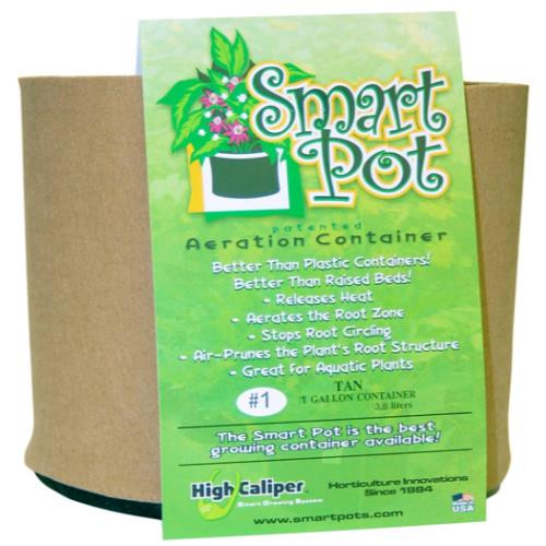 Smart Pot Tan 1 gallon