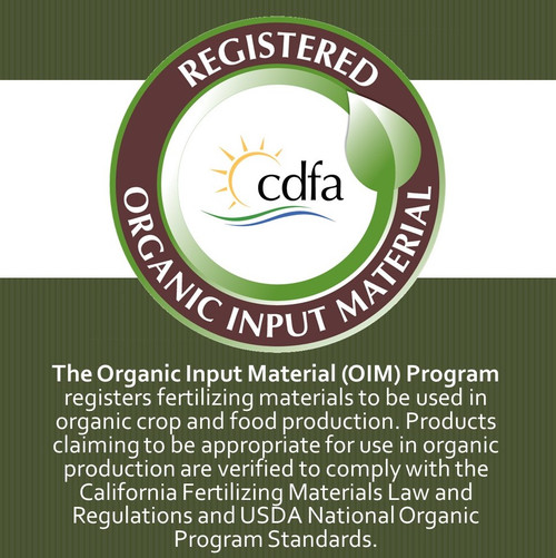 California Organic Fertilizers Inc. Phyta-Molasses QC (0-0-2) 5gal