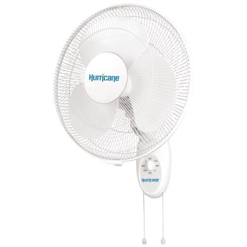 Hurricane Supreme Wall Mount Oscillating Fan 16in