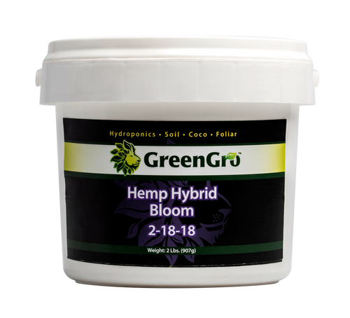 GreenGro Hemp Hybrid Bloom 2lb